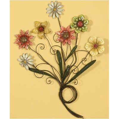 Colorful Flowers Wall Art - 36