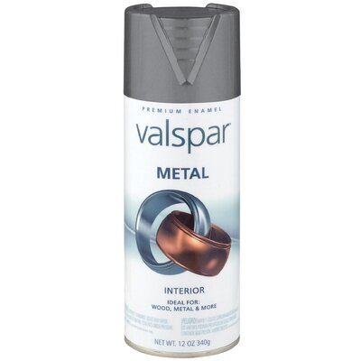 Valspar Graphite Metal Spray Paint