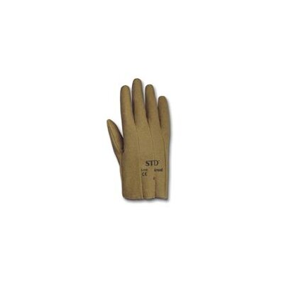 Ansell 9 STD® Tan Vinyl Impregnated Slip-On Glove With Interlock Machine Washable Knit Liner
