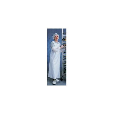 "Ansell X 44"" Clear CPP™ 8 Mil Vinyl Apron With Sewn Edge"