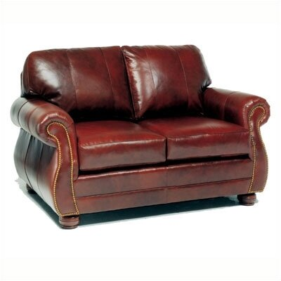 Easton Leather Loveseat