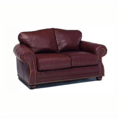 Addison Leather Loveseat