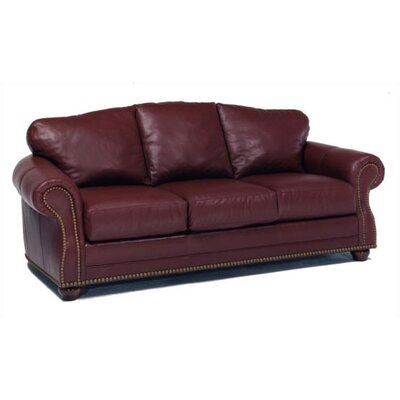 Addison Leather Convertible Sofa