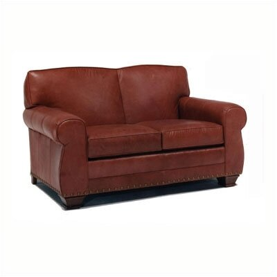 Hampton Leather Loveseat
