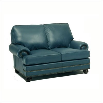 Vermont Leather Loveseat