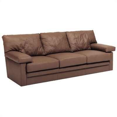 Distinction Leather Manhattan Queen Sized Sleep Sofa