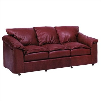 Denver Leather Sleeper Sofa