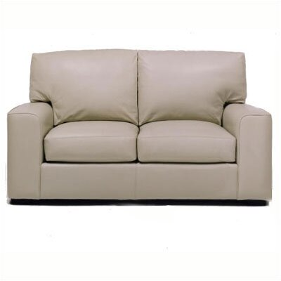 Baldwin Leather Loveseat