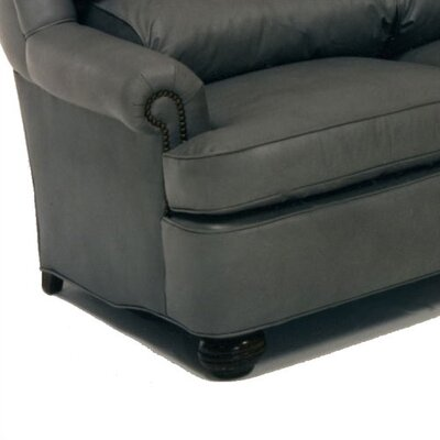 Distinction Leather Cushion Back Pub Leather Sectional