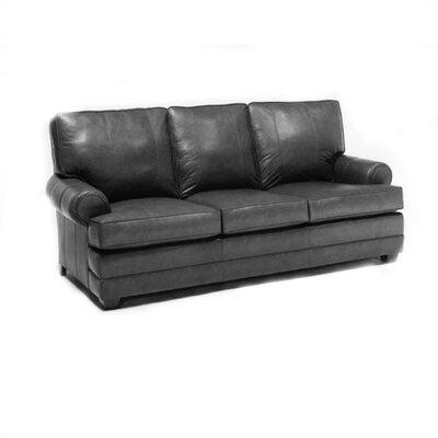 Gray Leather Sofa Wayfair