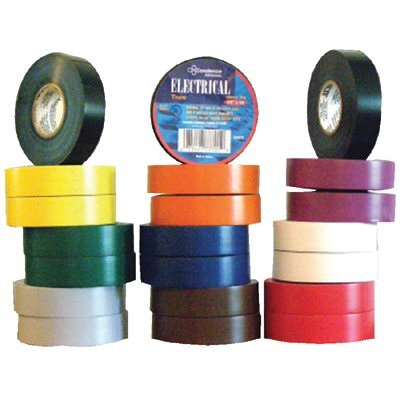 "Berry Plastics Electrical Tapes - b17 - .75"" x 66'  Brown"
