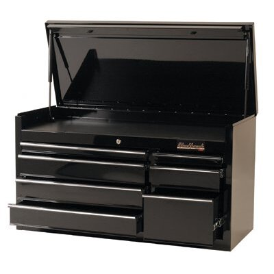 "Blackhawk 7 Drawer Top Chests - chest 41"" 7 drawer blk"