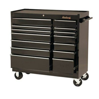 Blackhawk 14 Drawer Roller Cabinets - cabinet 41&quot; 14 drawer blk