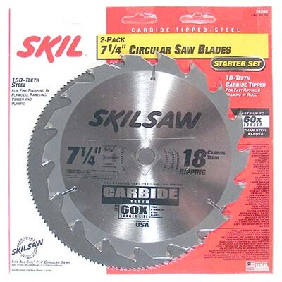 Bosch Power Tools 2-Piece Circular Saw Blade Set  75302