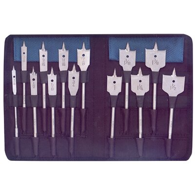 Bosch Power Tools 13 Piece Set RapidFeed™ Spade Drill Bits & Nylon Storage DSB5