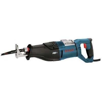 "Bosch Power Tools 12 Amp 0.75"" Variable Speed Reciprocating Saw with Lockjaw™ Blade Change System (Includes Carrying Case, All Purpose Blade And Heavy Metal Blade)"
