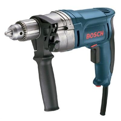 "Bosch Power Tools Amp, 0-850 RPM, 1/2"" Variable High Speed, Reversible Drill With Heavy Duty Keyed Chuck"