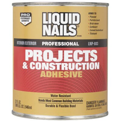 Bosch Power Tools 1 Quart Liquid Nails® Projects & Construction Adhesive LNP603