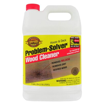CabotStain 1 Gallon Problem-Solver® Wood Cleaner 140-8002 GL