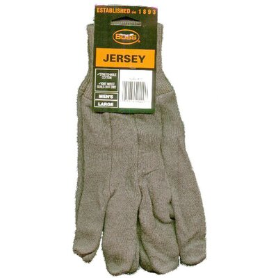 Boss Manufacturing Company Jersey Gloves in Brown