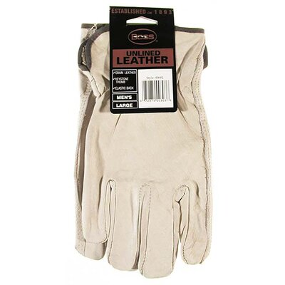 Boss Manufacturing Company Large Premium Grain Unlined Leather Gloves