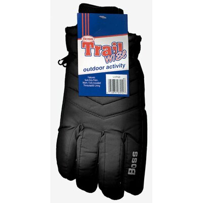 Boss Manufacturing Company Large Insulated Lined Poplin Gloves