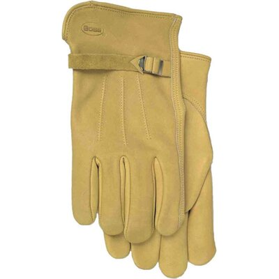 Boss Manufacturing Company Premium Grain Leather Gloves