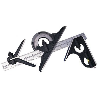 "Brown & Sharpe Precision Combination Square Sets - 44192 12"" combination square set"