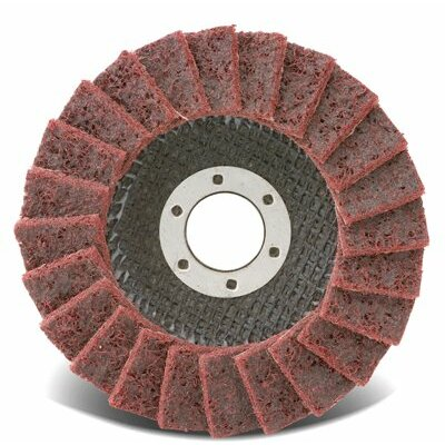 CGW Abrasives Cgw Abrasives - Flap Discs, Surface Conditioning, T27 4.5X7/8  Surface Cond. Non Woven Flap Disc Fine: 421-70124 - 4.5x7/8  surface cond. non woven flap disc fine