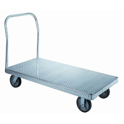 Wesco Manufacturing Treadplate Platform Dolly