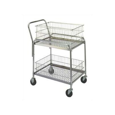 "Wesco Manufacturing 37.5"" Compact Office Cart"