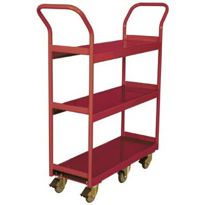 Narrow Aisle 3 Shelf Cart