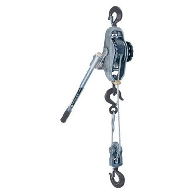 Coffing Hoists Cable Ratchet Lever Hoists - 05732 1 ton 12-1/2' liftcable puller