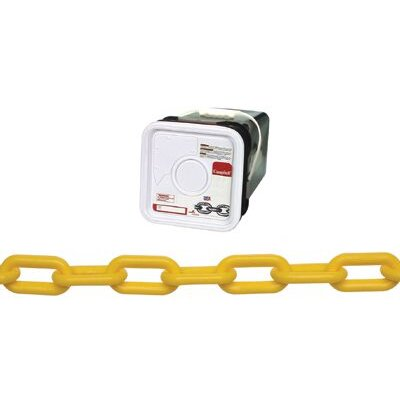 Cooper Tools Plastic Chains - #8 plastic chain/yellowin square p
