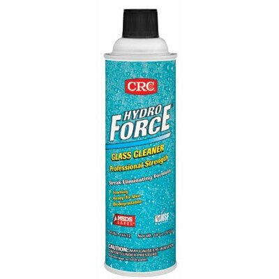 Crc HydroForce® Glass Cleaners Professional Strength - 20oz glass cleaner & lab