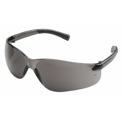 Crews BearKat® Protective Eyewear - bearkat clear lens safety glasses black temple s
