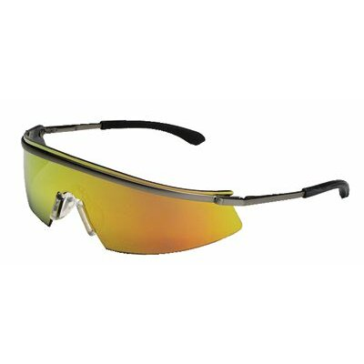 Crews Triwear® Metal Protective Eyewear - triwear metal clear af lens safety spectacle