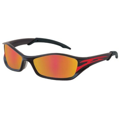 Crews Tribal Tattoo Proctective Eyewear - tribal graphite red tattoo fire