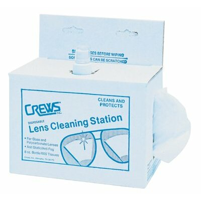 Crews Disposable Lens Cleaning Stations - disposable lens cleaningstation