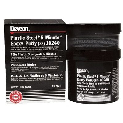 Devcon Plastic Steel® 5 Minute® Putty (SF) - 1-lb plastic steel 5minute putt