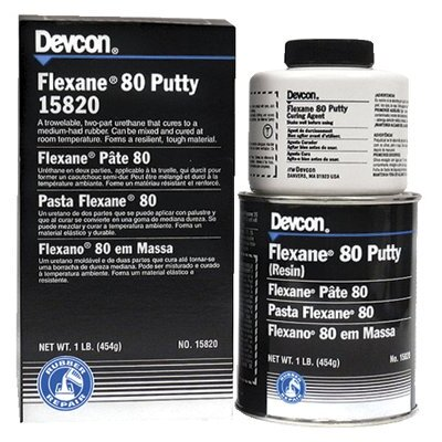 Devcon Flexane® 80 Putty - 1lb flexane 80 puttyurehtane co