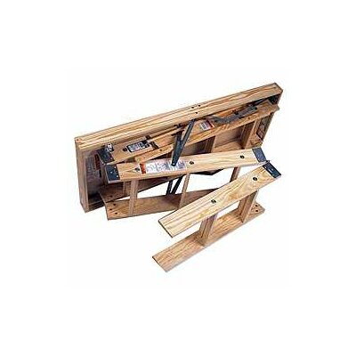 Werner 10' Wooden Attic Ladder WH2210