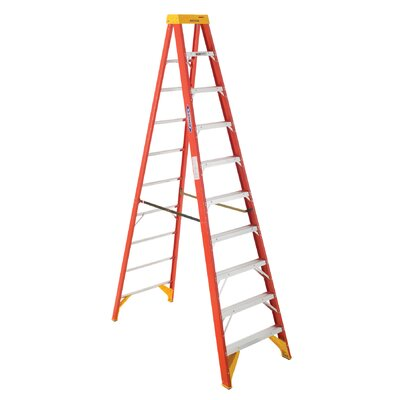 Werner 10' Fiberglass Step Ladder 6210
