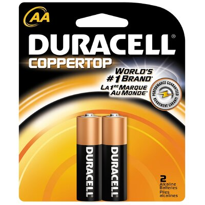 Duracell AA Cell Coppertop Alkaline Battery