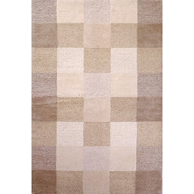 Eternity Ivory Checkerboard Rug