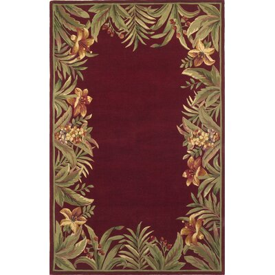 KAS Oriental Rugs Sparta Red Rainforest Rug