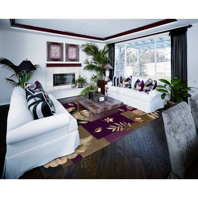 KAS Oriental Rugs Sparta Jeweltone Foliage Views Rug