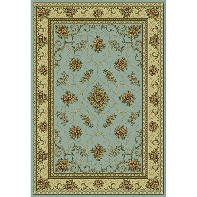 Monte Carlo II Blue Antique Floral Rug