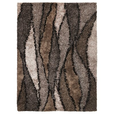 Optic Taupe Grain Rug