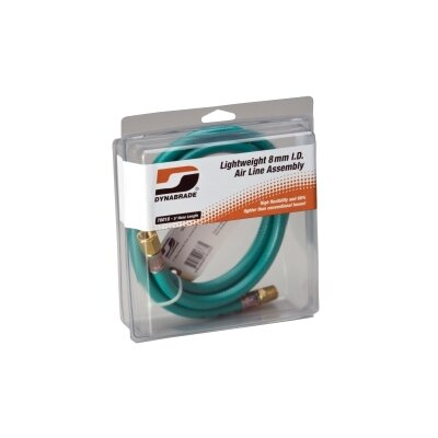 Dynabrade 2-Foot Whip Hose (In Clear Hanger Pkg.)